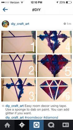 DIY diamond canvas