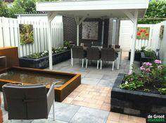 1000 images about overkapping veranda on pinterest verandas met and tuin - Overdekt terras in aluminium ...