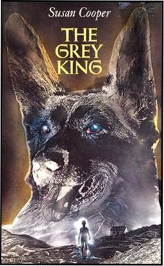 The Grey King by Susan Cooper, Newbery Award Winner, fourth title in Cooper's Dark Is Rising series.