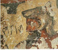 AITA. Tombe de l'Ogre.(IIè s.av.J.C.).Necropole de Monterozzi. Tarquinia.
