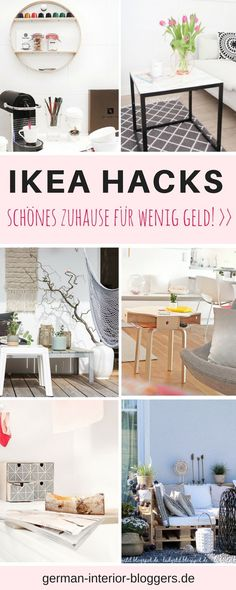 Schönes Zuhause für wenig Geld: diese genialen Ikea hacks sollte jeder kennen! Ikea, ikea hack, ikea hacks