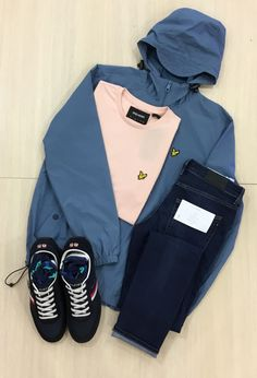 Jacket: Lyle & Scott T-Shirt: Lyle & Scott Jeans: Farah Vintage Shoes: Tommy Hilfiger Nike Jacket, Rain Jacket, Lyle Scott, Outfit Of The Day, Windbreaker, Ootd, Athletic, Jackets, Outfits