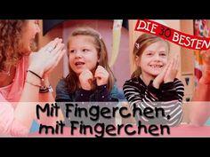 Mit Fingerchen, mit Fingerchen - Singen, Tanzen und Bewegen    Kinderlieder - YouTube Youtube, Songs, Education, Videos, Funny, Babys, Impulse, Movie, Nursery Rhymes