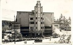 The 'P' is missing but do you recognise the Pavilion Cinema that used to be next door to the Cathay Cinema.