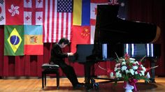 III Chopin International Piano Competition,Hartford,CT I Prize Winner Shuan Hern Lee Piano Competition