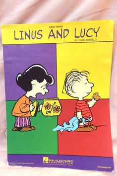 Linus and Lucy Easy Piano Music Peanuts Charlie Brown Piano Lessons