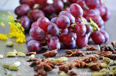Trzy magiczne składniki: winogrona, zilony kardamon i anyż.