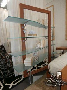 Ikea Glass shelves Bedroom - - Glass shelves Bar Display - Built In Glass shelves Living Room - - Glass Shelf Brackets, Glass Shelves In Bathroom, Floating Glass Shelves, Glass Furniture, Unique Furniture, Furniture Making, Living Room Built Ins, Bookshelves In Living Room, Display Shelves