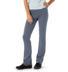 Horny Toad Women's Flexure Pant (Dolphin, Large) by Horny Toad. $67.90. wide waistband with narrow elastic insert. angled front and back yoke seams. narrow boot-cut leg. back stash pocket. banded stitching at cuffs for adjustable length. 90% ORGANIC COTTON/10% SPANDEX. Synthetic yoga pants can be stifling — more like armor than activewear. Turns out that unless you're going into battle afterward, a pound of spandex is overkill for warrior pose. Lithe, breathable an...