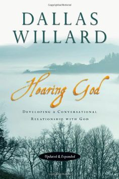 Hearing God: Developing a Conversational Relationship with God by Dallas Willard http://www.amazon.com/dp/0830835695/ref=cm_sw_r_pi_dp_2k1Fub1MC095X