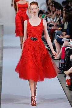 Oscar de la Renta Resort 2013 Fashion Show - Chantal Stafford-Abbott
