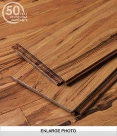 Eucalyptus flooring. Good scratch-resistance.  Mocha Fossilized® Lyptus Flooring
