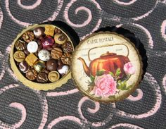 Miniature Box of Chocolates 12th Scale Tea Shabby by TheSweetBaker