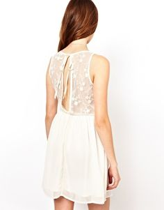 If I didn't have boobs, I would buy this.  Enlarge Glamorous Dress With Lace Open Back