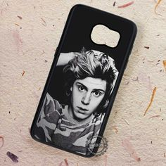 Evan Peters Black and White - Samsung Galaxy S7 S6 S5 Note 7 Cases & Covers