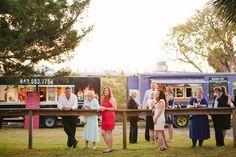 Berna & Chad | Gold Bug Island | The Wedding Row | The Wedding Row | Food Trucks