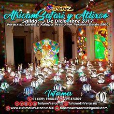 Este 3 de diciembre acompáñanos a #AfricamSafari y #Atlixco saliendo de #Veracruz #Cardel y #Xalapa ¡ Reserva Tu Lugar YA ! Más información en: Tels: 01 (229) 150 83 16 WhatsApp: 2291476029 Email: turismoenveracruz@gmail.com http://www.turismoenveracruz.mx/2017/10/excursion-a-africamsafari-este-3-de-diciembre-de-2017-saliendo-de-veracruz-y-xalapa/