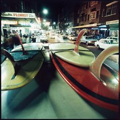 Cruising on Darlinghurst Road, Sydney, early 70´s