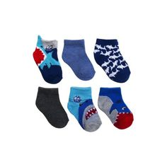 Boys//Kids 3-12 Socks Pairs Pack COTTON RICH EVERYDAY Casual School Design Animal Childrens Ankle FUN Novelty Bright//Dark