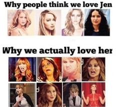 Yes! I like her because she is a real person and awkward in interviews! Especially when  with funny people like Josh Hutcherson! •~•HRM•~•