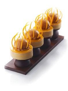 Jérôme Chauces - chocolate dessert; #plating #presentation