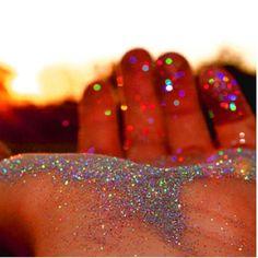 Glitter Everywhere.