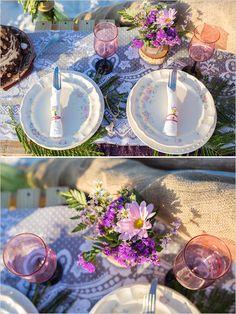 Vintage wedding decor ideas. Captured By: Filda Konec Photography http://www.weddingchicks.com/2014/06/16/boho-chic-beach-wedding/