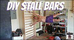 DIY Stall Bars - garage gym