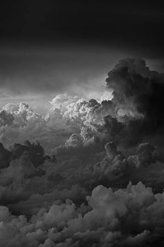 #clouds #black&white