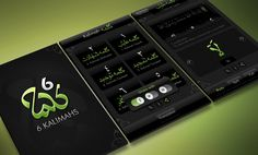 6 Kalimahs > RBM Tech  |  iPhone app UI design