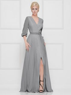 5a74ec356ff Marsoni by Colors M250 Draped Chiffon Mothers Dress. Chiffon Evening DressesMothers  DressesGroom ...