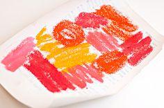 Heather Greenwood aka Scrap Happy Hippie: Mixed Media Tutorial: using Gelatos and stencils