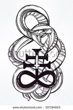 thumb1.shutterstock.com display_pic_with_logo 3026348 337194653 stock-vector-vintage-tattoo-art-highly-detailed-hand-drawn-snake-with-satanic-cross-symbol-of-satan-in-linear-337194653.jpg