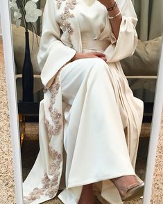 Best formal dresses Ready-made range available at. Best Formal Dresses, Modest Dresses, Modest Outfits, Elegant Dresses, Islamic Fashion, Muslim Fashion, Modest Fashion, Fashion Dresses, Hijab Outfit