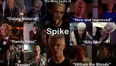 I <3 Spike and all of his many looks!