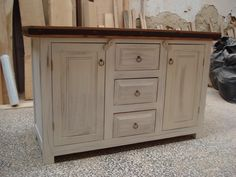 Rustic buffet by Beaver Home furniture.