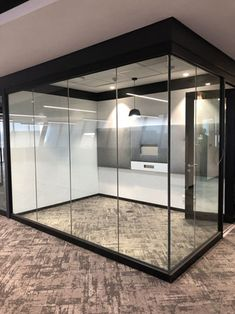 GF Serene from Aluglass Bautech is the ideal acoustic internal glass partitions system, to create quiet office spaces or meeting rooms within open plan applications.