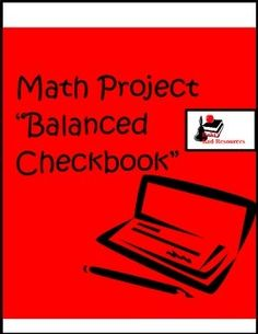Math is best learned in real life situations. This project puts students into the real life situation of balancing a checkbook, paying bills on a set budget and determining the importance of certain luxuries, as well as saving for unexpected emergencies.