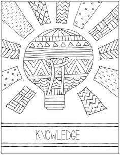 Young Women Value Coloring Pages