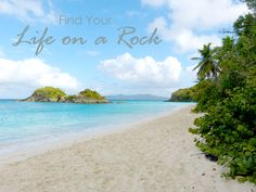 Life on a rock is special, especially when you can enjoy a beach like Trunk Bay early enough to have it all to yourself.