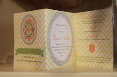 Baby Shower invitations created by HH Design House.