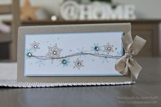 snowflakes in beautiful soft colors