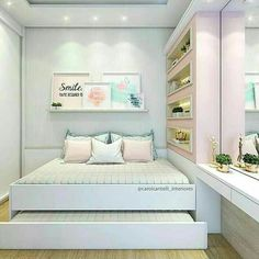 Comfortable Bedroom Ideas 3170554804 Positively lovely tips to make a clearly great diy bedroom ideas for small rooms inspiration Lovely Bedroom decor ideas shared on this imaginative day 20181122 Girl Bedroom Designs, Bedroom Themes, Home Decor Bedroom, Bedroom Ideas, Diy Bedroom, Design Bedroom, Small Room Bedroom, Small Rooms, Girls Bedroom