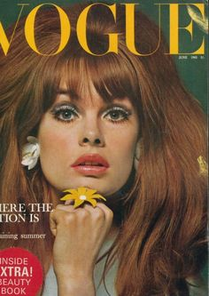 Vogue Cover Honors List: Who Has Graced the Fashion Mag the Most? : Fashion & Style -  Jean Shrimpton 20 times on the cover of Vogue magazines.