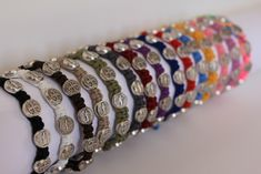 Chose from 15 different colors the hottest bracelet around
