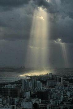 Algiers sun ray