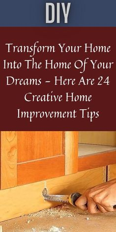 We have all thought about what our dream home would look like. It's natural! After all, we spend most of our time at home, so we might as well make it as perfect as possible. #Transform #24Creative #ImprovementTips 1 Dollar Shop, Oscar Fish, Blue Jeep, Korean Eye Makeup, Ankle Jewelry, Bridal Heels, Perfume, Iron Furniture, Office 365