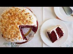 Red Velvet με κρέμα τυριού!!! - YouTube Velvet Cake, Red Velvet, Greek Recipes, Tiramisu, Food And Drink, Pie, Cheese, Cream, Ethnic Recipes