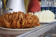Bloomin' Onion from Awesome Onions at The Big E!