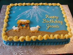 happy birthday jesus cake photos -